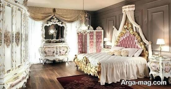 دکوراسیون متفاوت اتاق خواب فانتزی