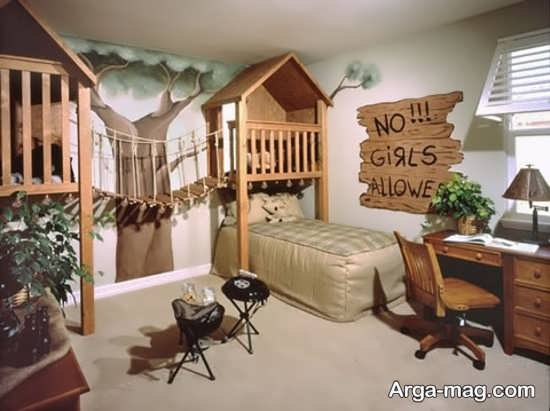 دکوراسیون جذاب اتاق خواب فانتزی