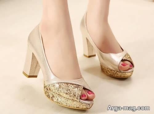 مدل کفش شیک عروس