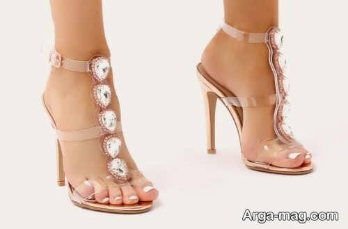 کفش زیبا و شیک عروس
