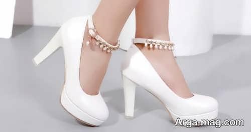کفش سفید برای عروس