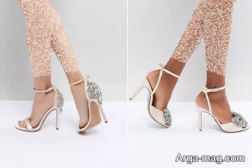 مدل کفش زیبا برای عروس