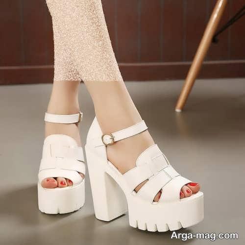 مدل کفش سفید عروس