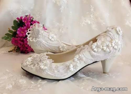 کفش کار شده عروس