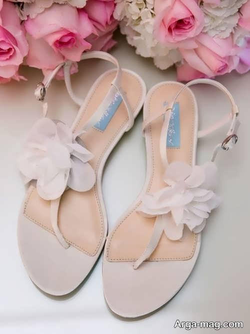 کفش تابستانی عروس