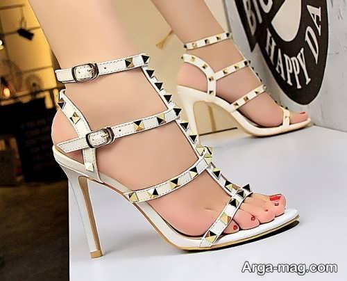 کفش پاشنه بلند برای عروس