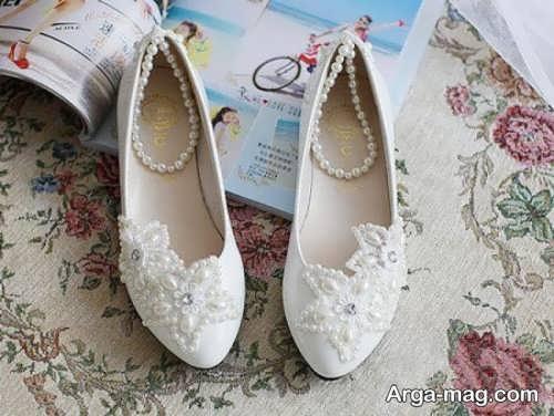 کفش زیبا و شیک برای عروس