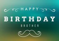 متن تبریک تولد برادر