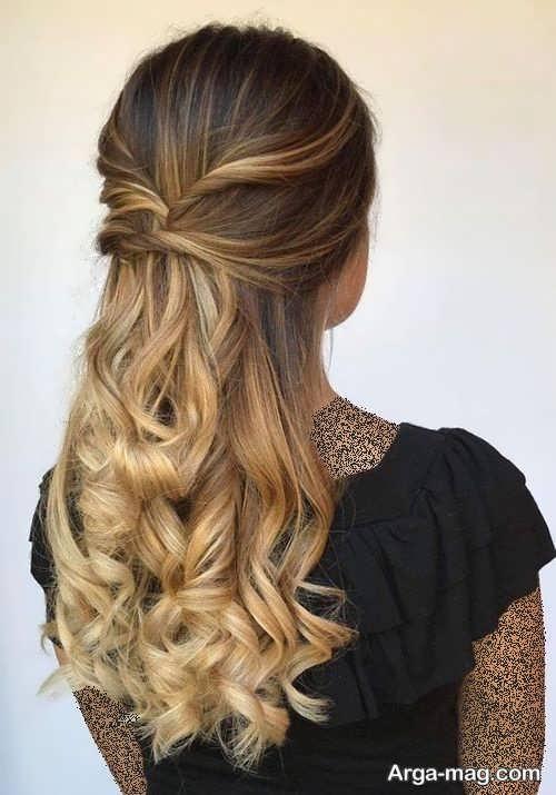 آرایش موی شیک و زیبا زنانه