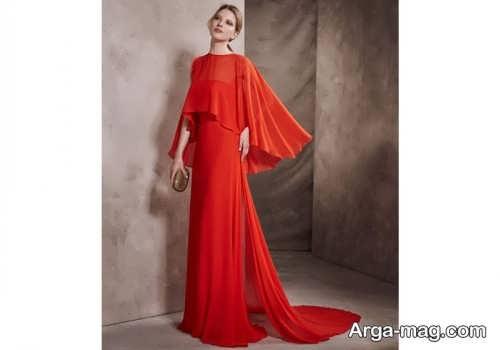 مدل لباس مجلسی شنل دار زنانه