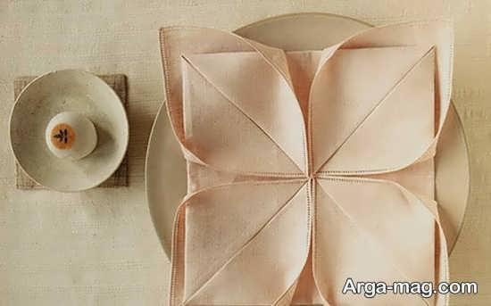 تزئینات منحصر به فرد دستمال سفره