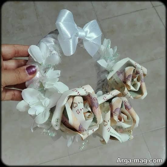 تزئینات شاباش مراسم عروسی با ایده هنرمندانه