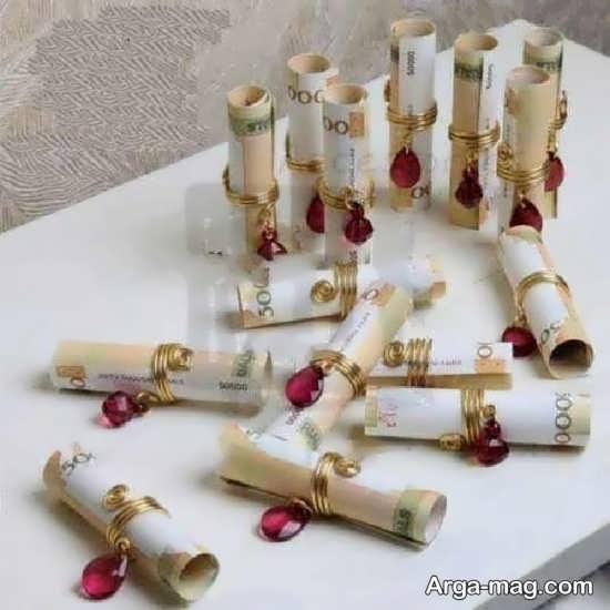 مجموعه جالب تزئین شاباش مراسم عروسی