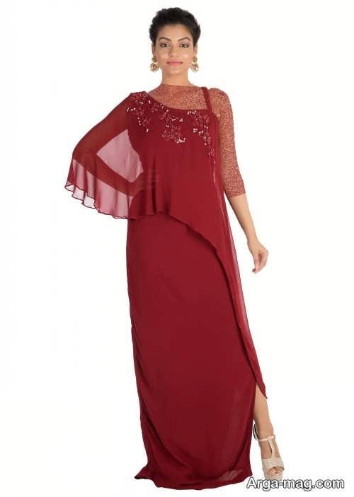 مدل لباس مجلسی یک طرفه شیک و جذاب برای خانم های خوش پوش