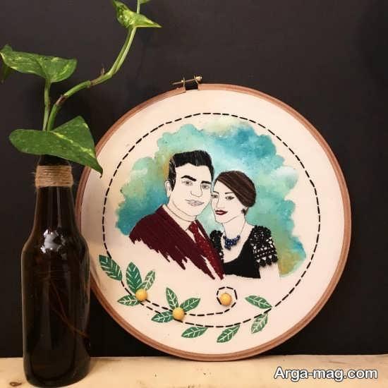 طرح های عاشقانه و شیک برای گلدوزی