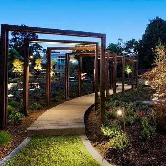 جدیدترین طراحی باغ و ویلا زیبا و مدرن