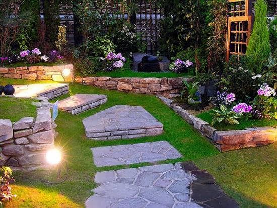 جدید ترین و زیبا ترین ایده های طراحی باغ و ویلا