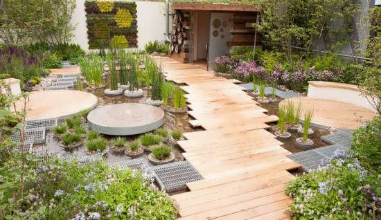 ایده های ناب و جذاب طراحی راهرو باغ