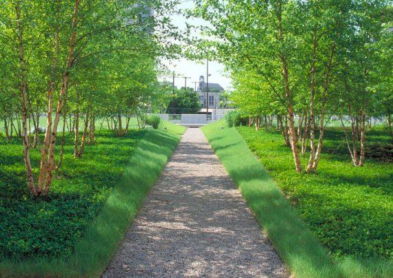 طراحی راهرو باغ به روش های مختلف