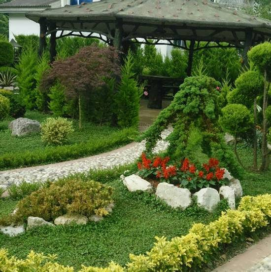 طراحی راهرو باغ و ویلا با استفاده از خلاقیت و هنر