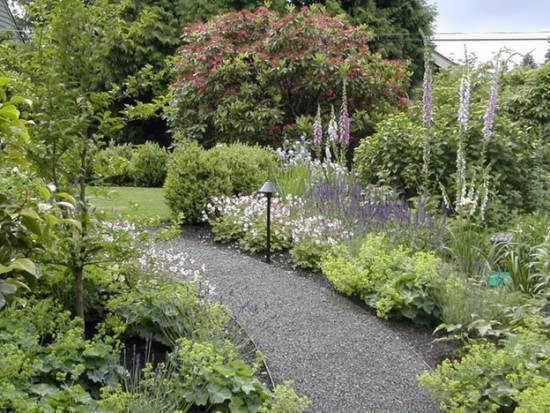 ایده های زیباسازی راهرو باغ با بهره گرفتن از گیاهان