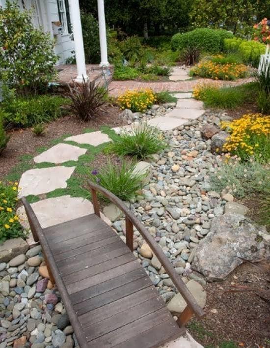 طراحی راهرو باغ به روش های زیبا و مدرن