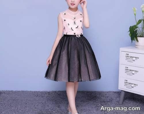 لباس مجلسی کره ای دخترانه