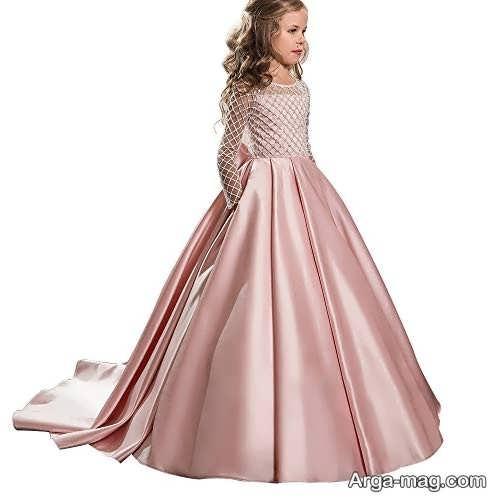 مدل لباس مجلسی دخترانه بچه گانه