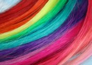 رنگ موی رنگین کمانی