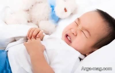 دل پیچه در نوزادان