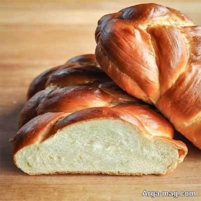 روش تهیه نان بسیار خوشمزه گیسو