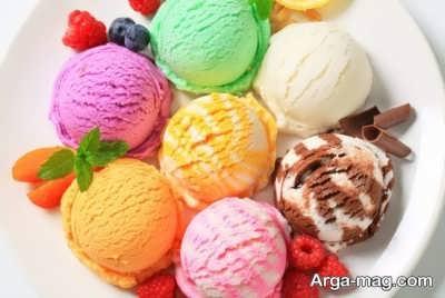 بستنی ایتالیایی خوشمزه