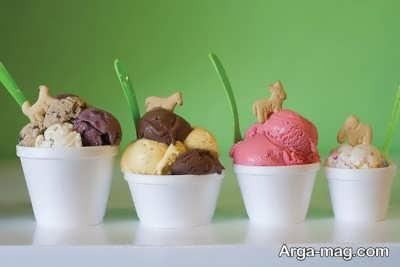 بستنی ایتالیایی خوش طعم