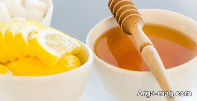 ماسک طبیعی آبلیمو و عسل