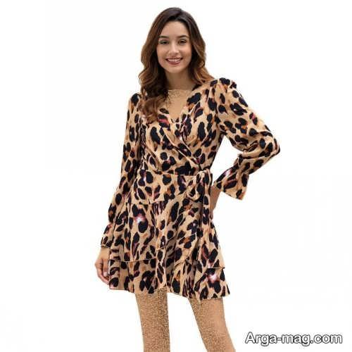 مدل لباس زنانه پلنگی