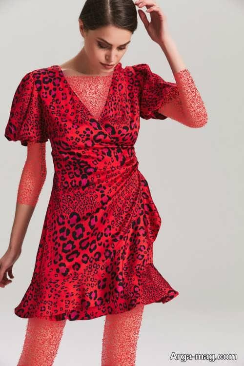 لباس پلنگی زیبا و شیک
