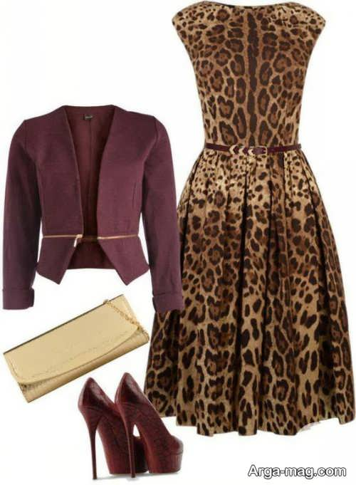 مدل لباس پلنگی