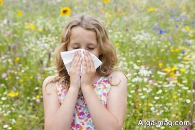 حساسیت و آلرژی داشتن به گل و گیاه