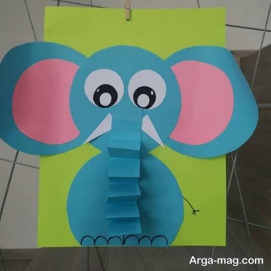 ایده های هنرمندانه برای کاردستی به شکل فیل