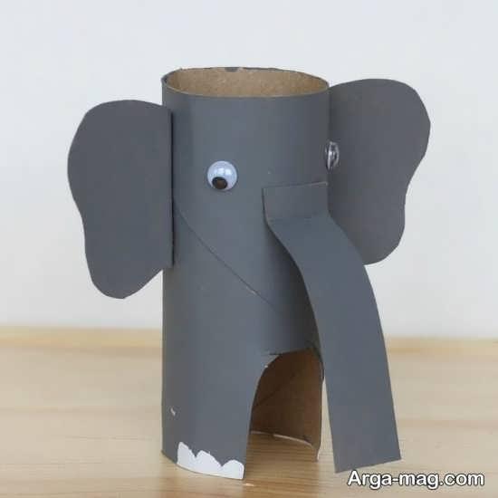 ایده های جذاب برای کاردستی به شکل فیل