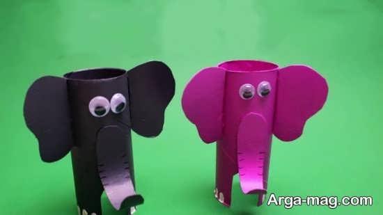ایده های منحصر به فرد برای کاردستی به شکل فیل
