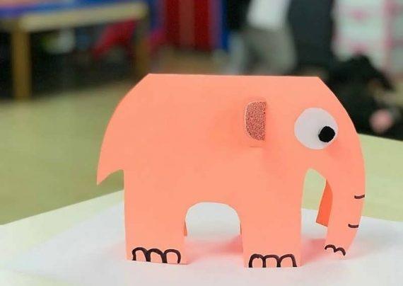 کاردستی فیل