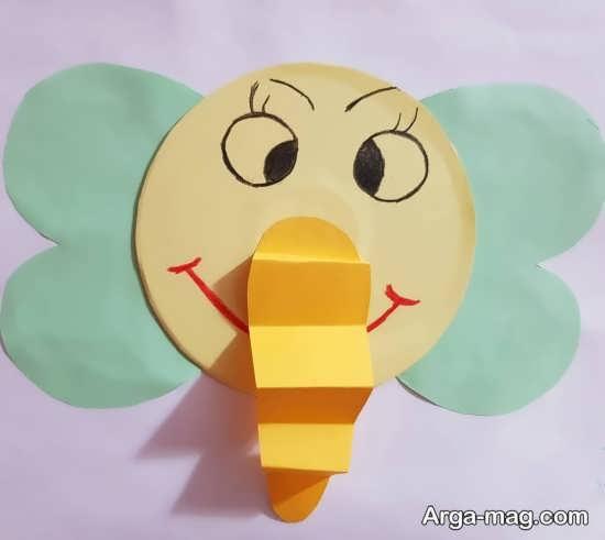 ایده های خلاقانه برای کاردستی به شکل فیل