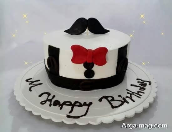تم تولد و کیک مردانه