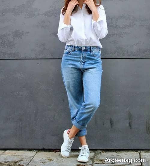 مدل شلوار جین راسته