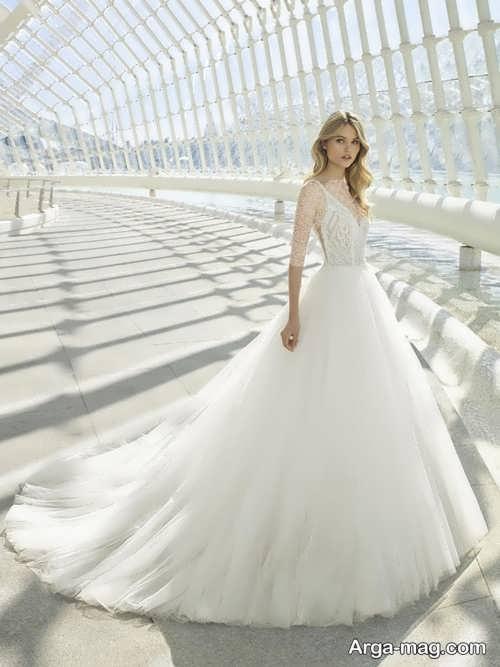 مدل پیراهن عروس زیبا و متفاوت