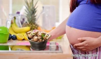 مصرف قارچ در دوران بارداری