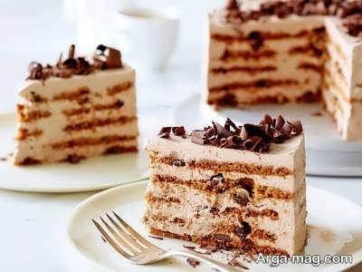 بهترین طرز تهیه کیک نسکافه ای