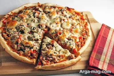 رو ش تهیه پیتزا مخصوص