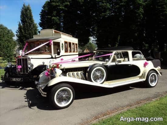 ماشین عروس زیبا و قدیمی